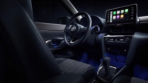 2021 Toyota Yaris Cross interior