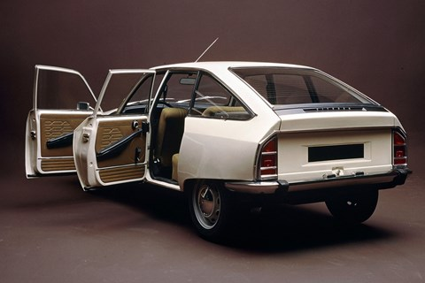 Citroen GS was roomy for luggage and passengers