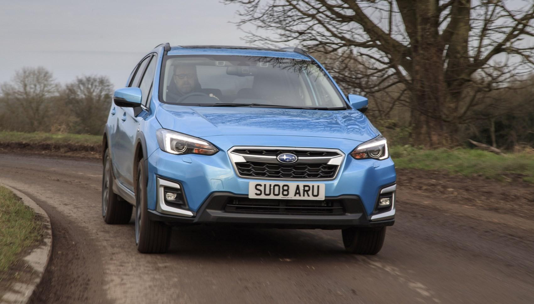 Subaru xv front cornering