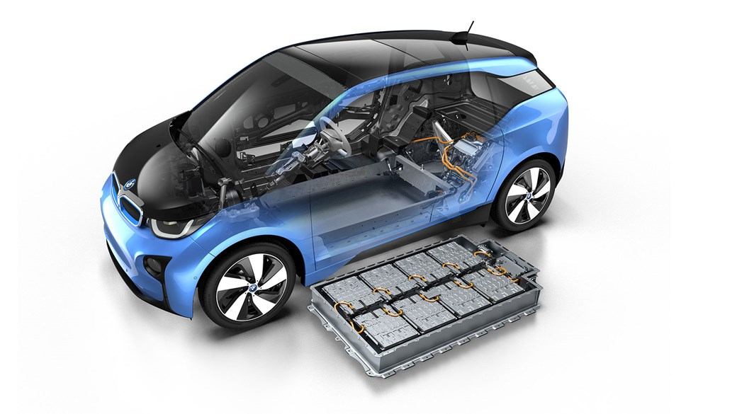 BMW i3 and its lithium-ion battery: