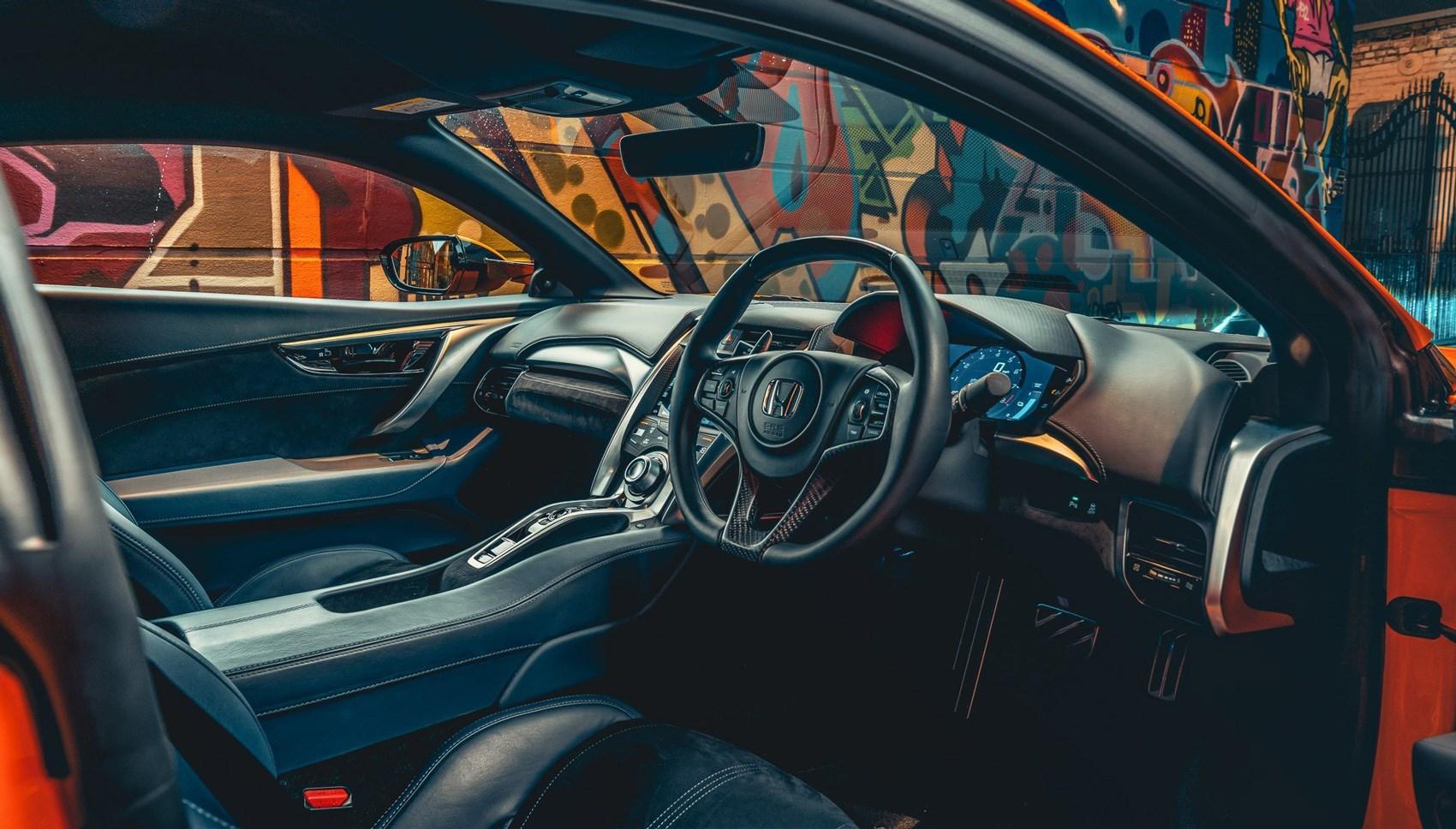 NSX 2020 interior