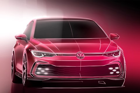 Golf GTi design sketch