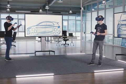VW design VR