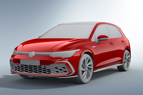 Golf GTI design render