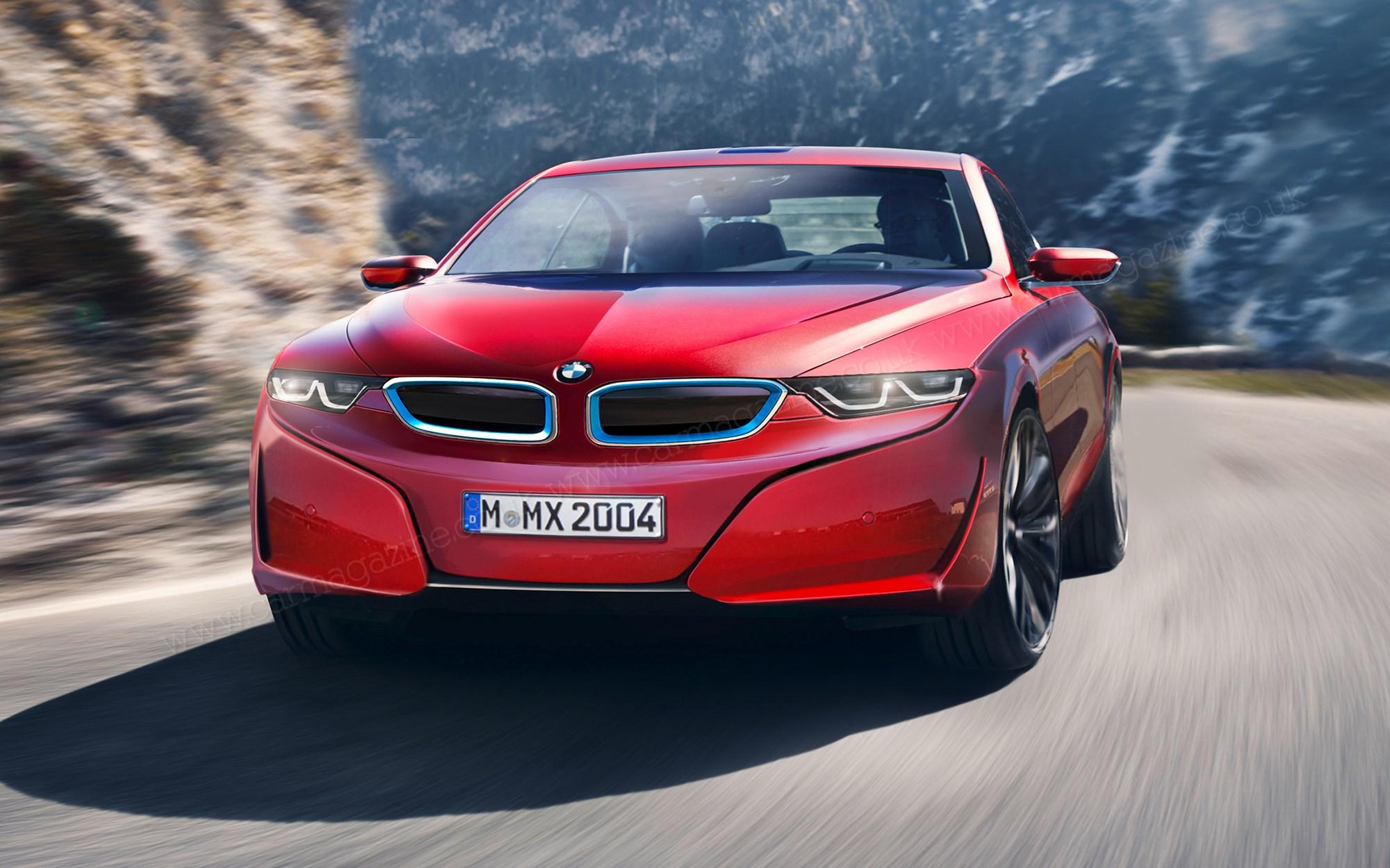 Bmw I5 I7 Scoop Target Tesla Model S Car Magazine