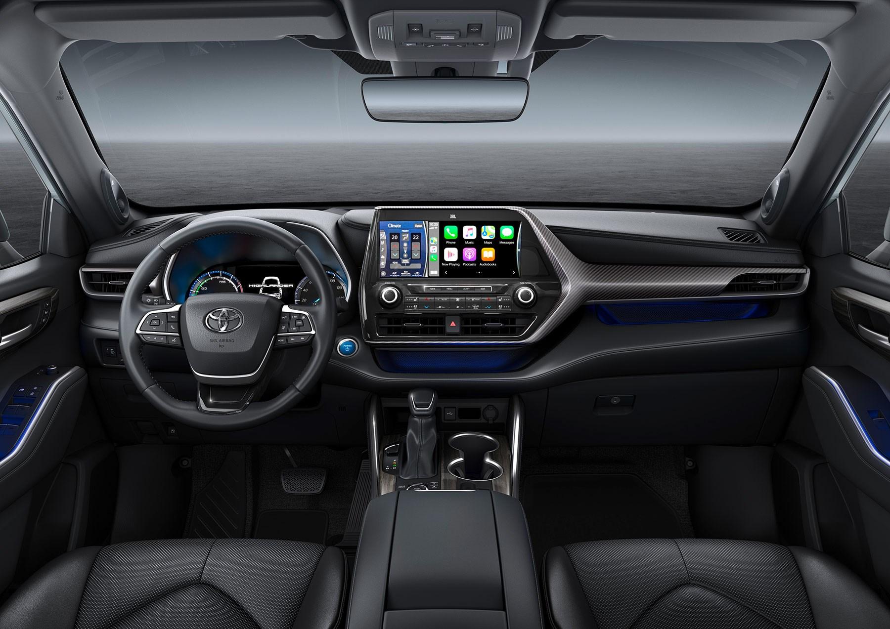 Toyota Highlander Seven Seat Hybrid Suv Confirmed For Uk Sale In 2021 Car Magazine