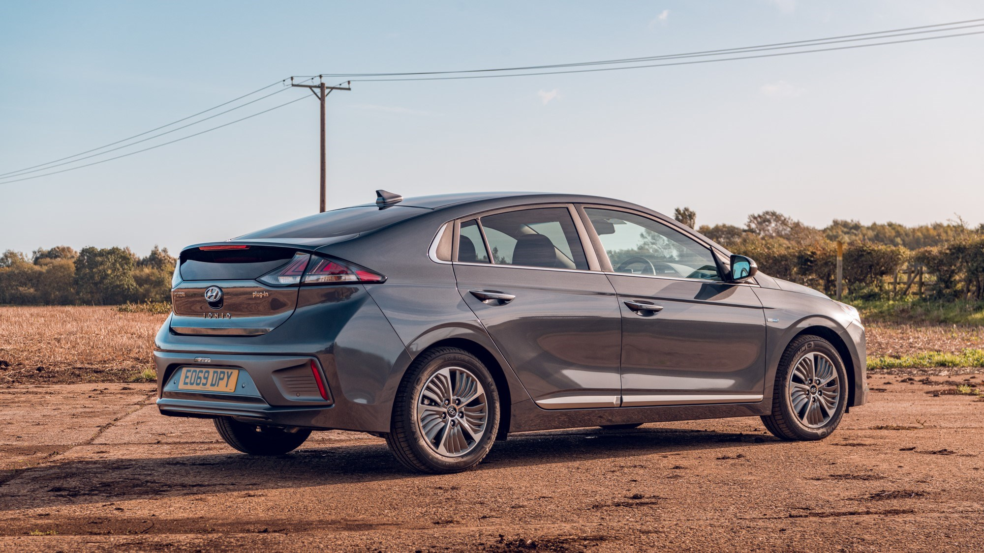 2020 Hyundai Ioniq Hybrid - rear three quarter
