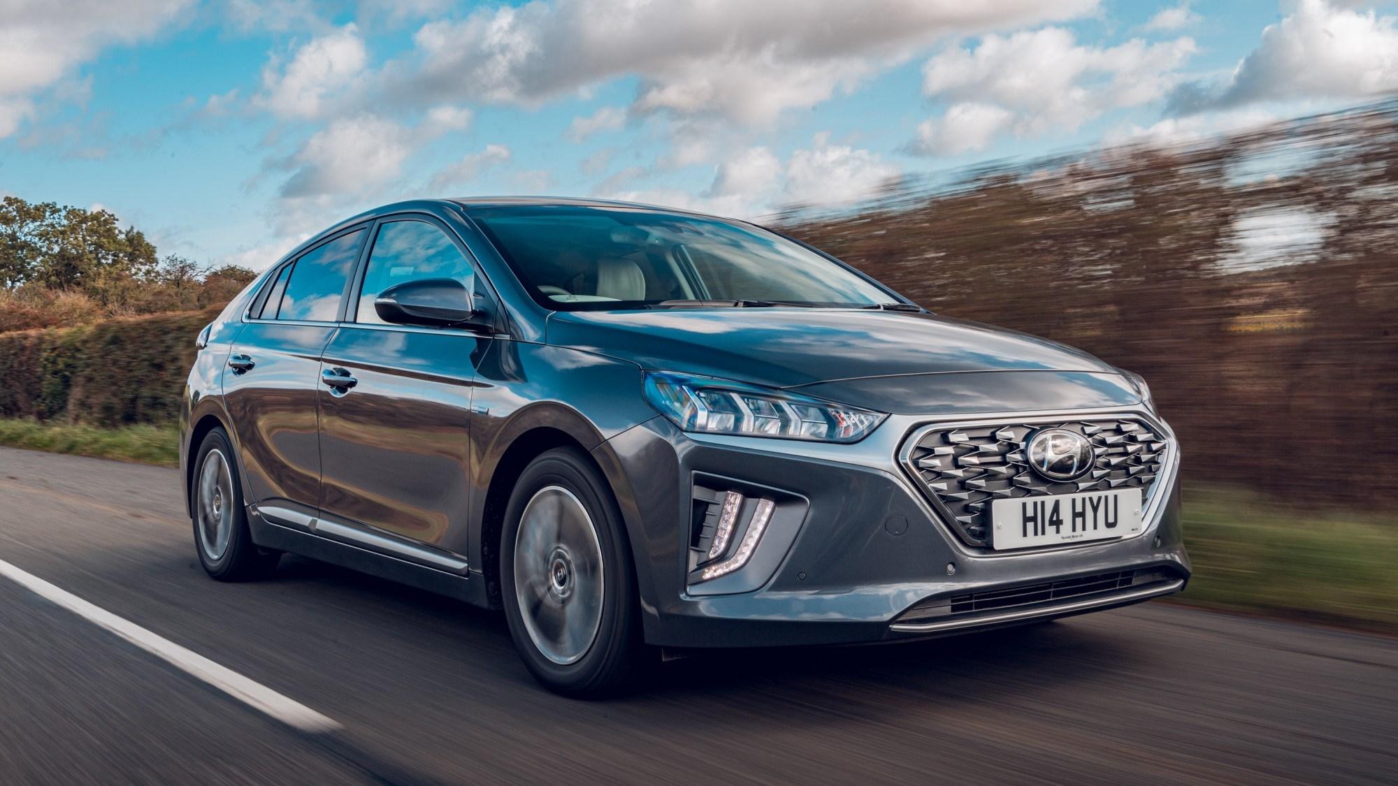 2020 Hyundai Ioniq Hybrid - tracking