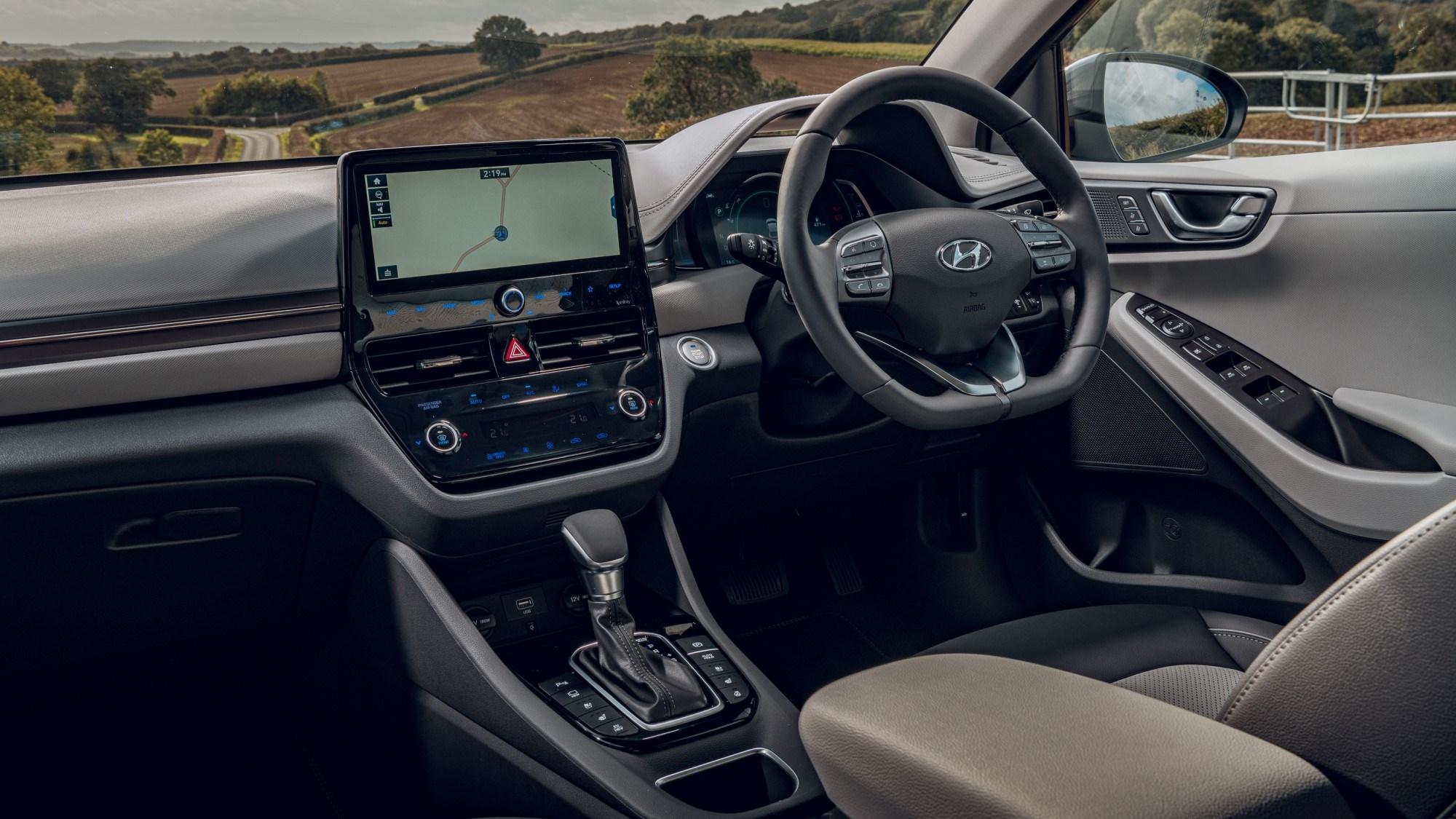 2020 Hyundai Ioniq Hybrid - interior