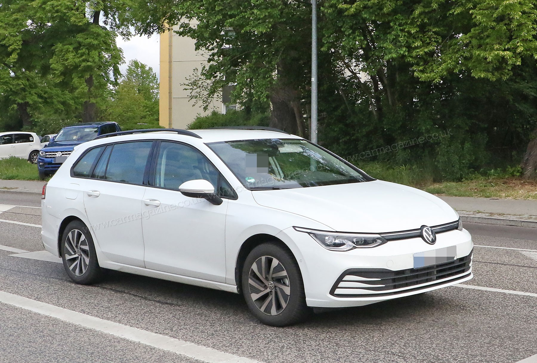 Loads Better New Mk8 Vw Golf Estate Spied For First Time Car Magazine