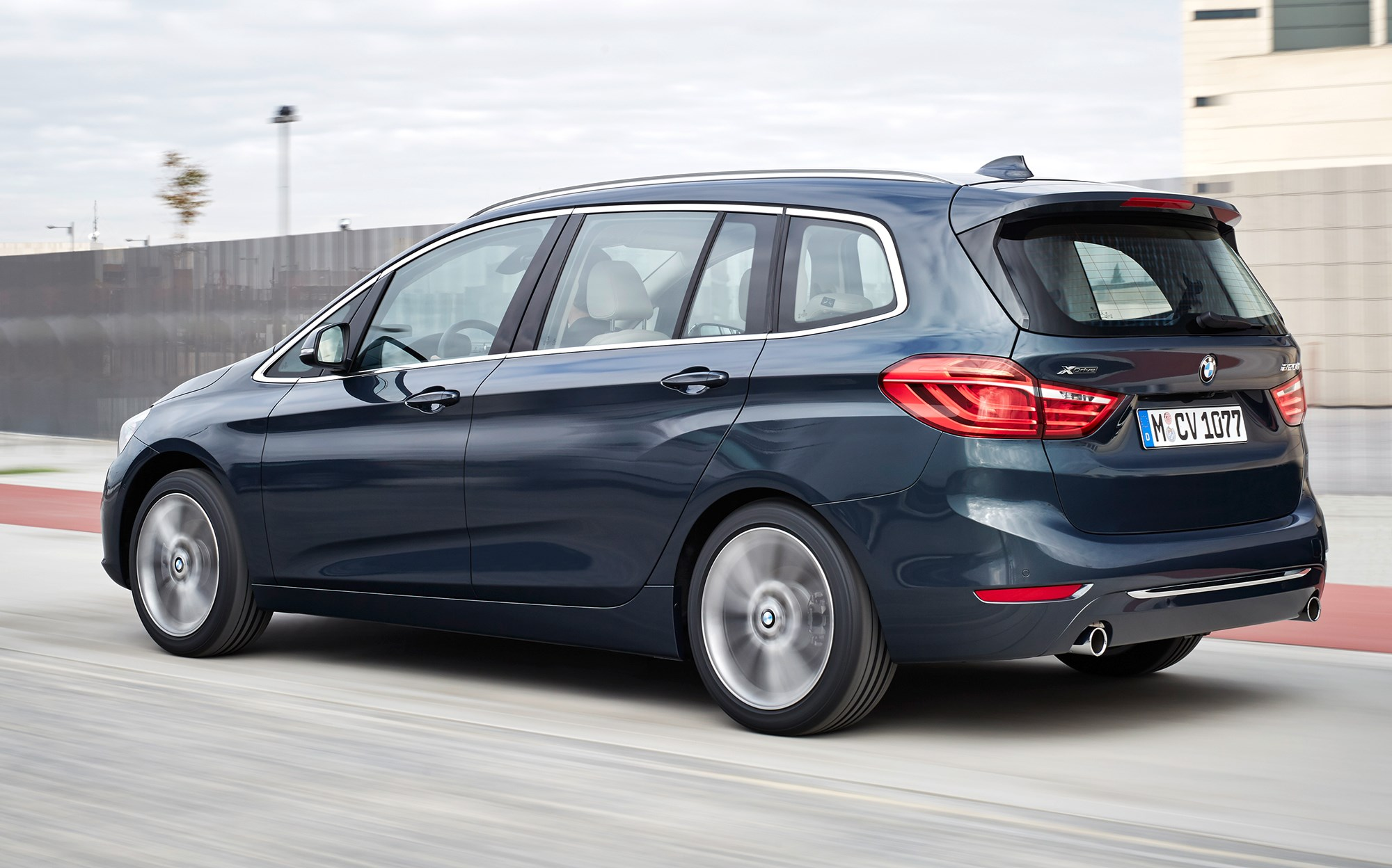 Bmw 2 Series Gran Tourer 2015 It S Munich S First Seven