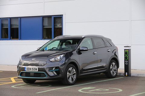 Kia electric SUV: the e-Niro 64kwh First Edition