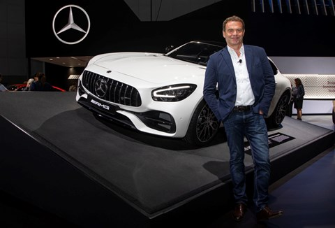 Tobias Moers, head of Mercedes-AMG. Could he lead Aston Martin next?