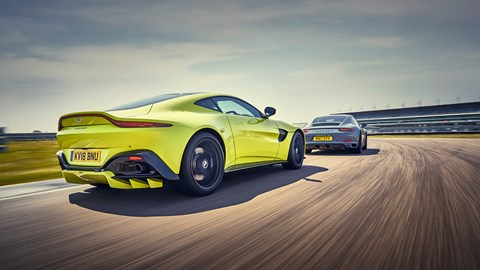 Aston Martin Vantage: a Porsche 911 chaser