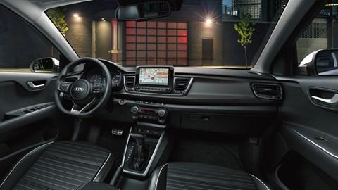 2020 Kia Rio facelift - interior