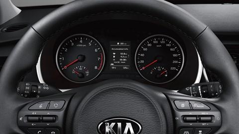 2020 Kia Rio facelift - dials