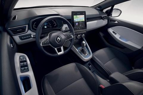 2020 Renault Clio Hybrid - interior
