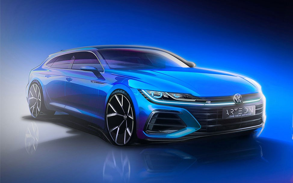New VW Arteon Shooting Brake and high-performance R models join fastback for 2020 facelift