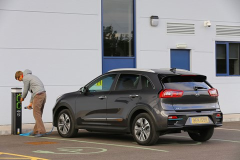 Kia e-Niro: in future all touchpoint must be germ-resistant in this pandemic age