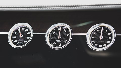 Bentley Continental GT Rotating Display option