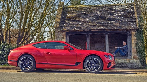 Tim Pollard and his Bentley Continental GT V8