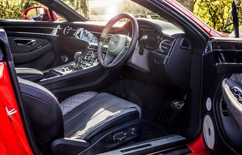 2020 Bentley Continental GT interior: a very special cabin