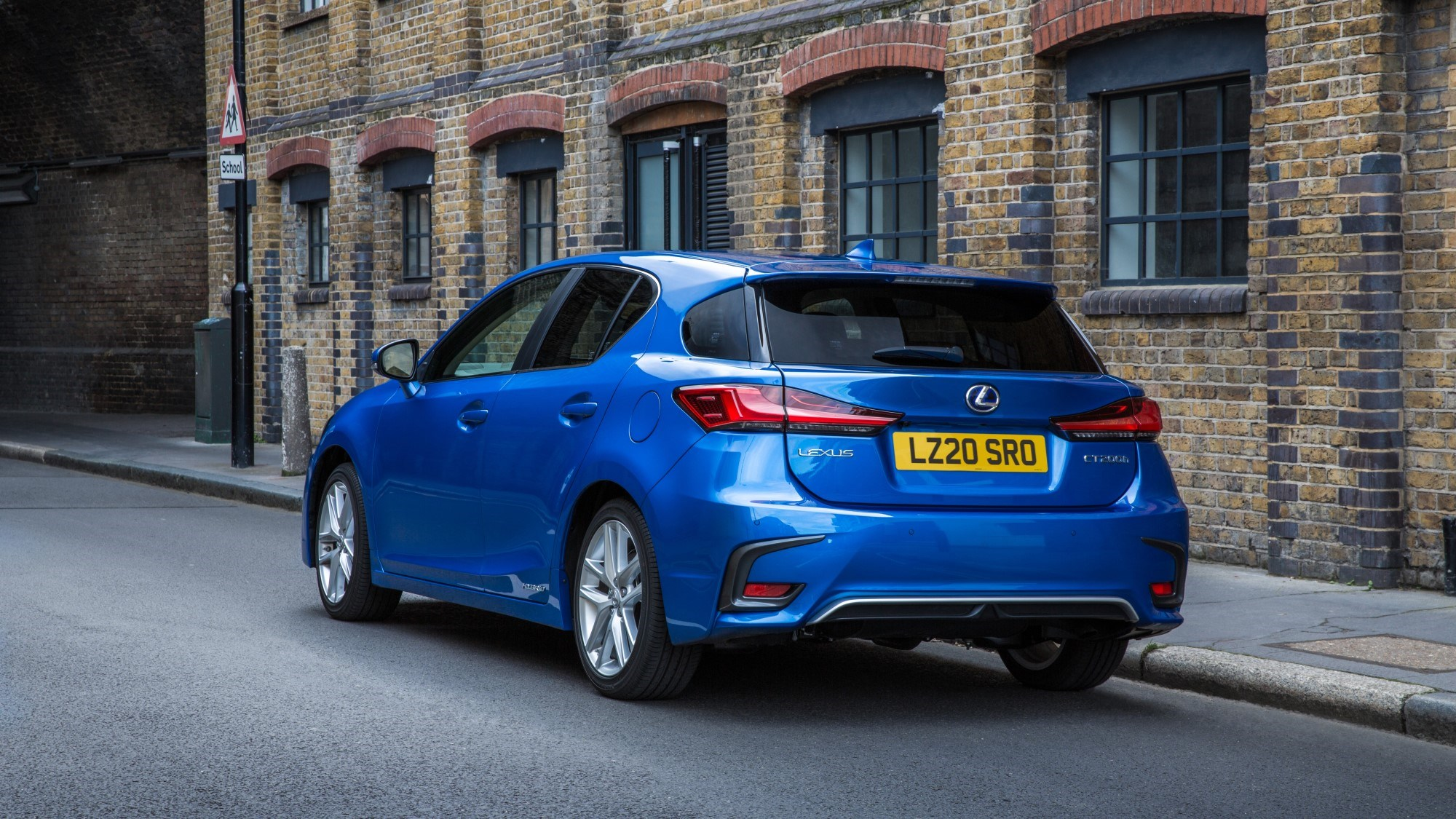 2020 Lexus CT - rear three quarter