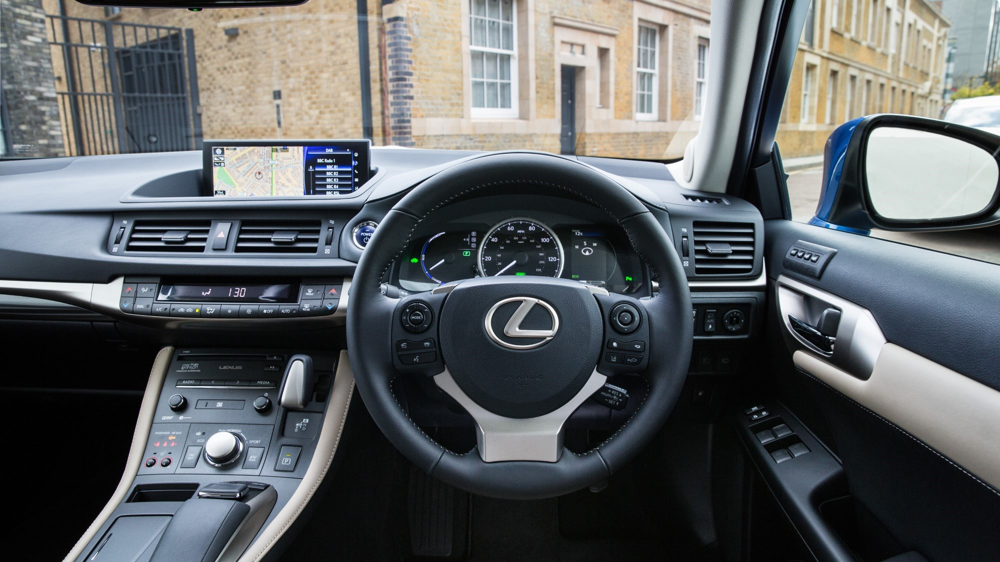 2020 Lexus CT - interior