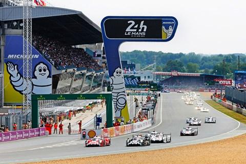 Le Mans 2015 start