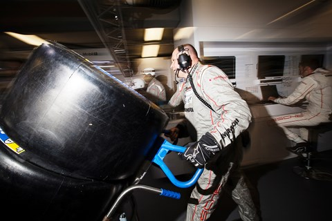 Le Mans 2015 tyres