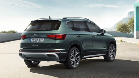 2020 SEAT Ateca - rear three quarter