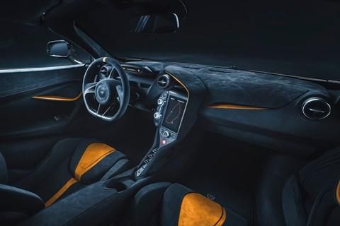 720S LM editon interior