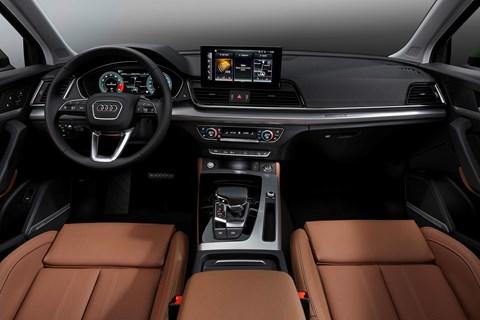 Q5 interior