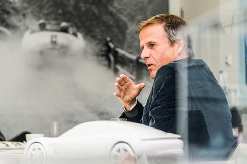 Michael Mauer is only Porsche's fourth design director