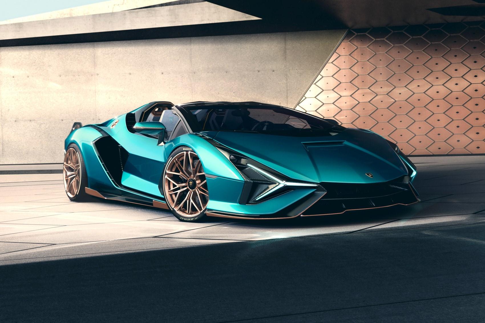 New Lamborghini Sian Roadster: topless at 217mph | CAR ...