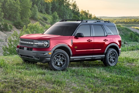 bronco sport red