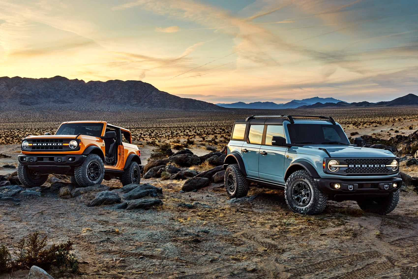 All-new Ford Bronco: tough 4x4 makes official return