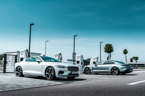 taycan polestar charge