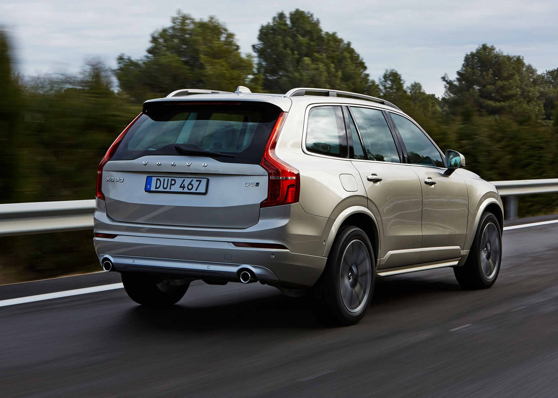 Volvo xc90 d5 2015 review car magazine car reviews the new volvo xc90 rear less progressive than front of xc90 publicscrutiny Image collections