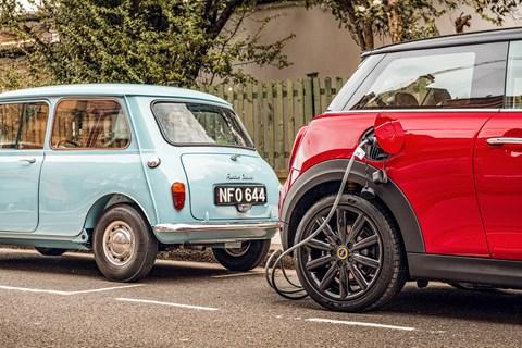 Mini electric vs original charging