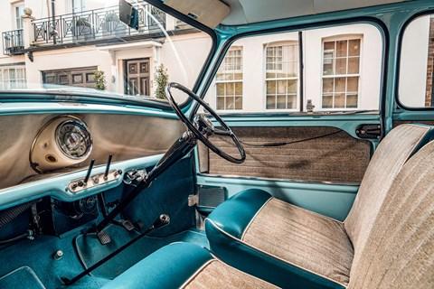 classic mini interior