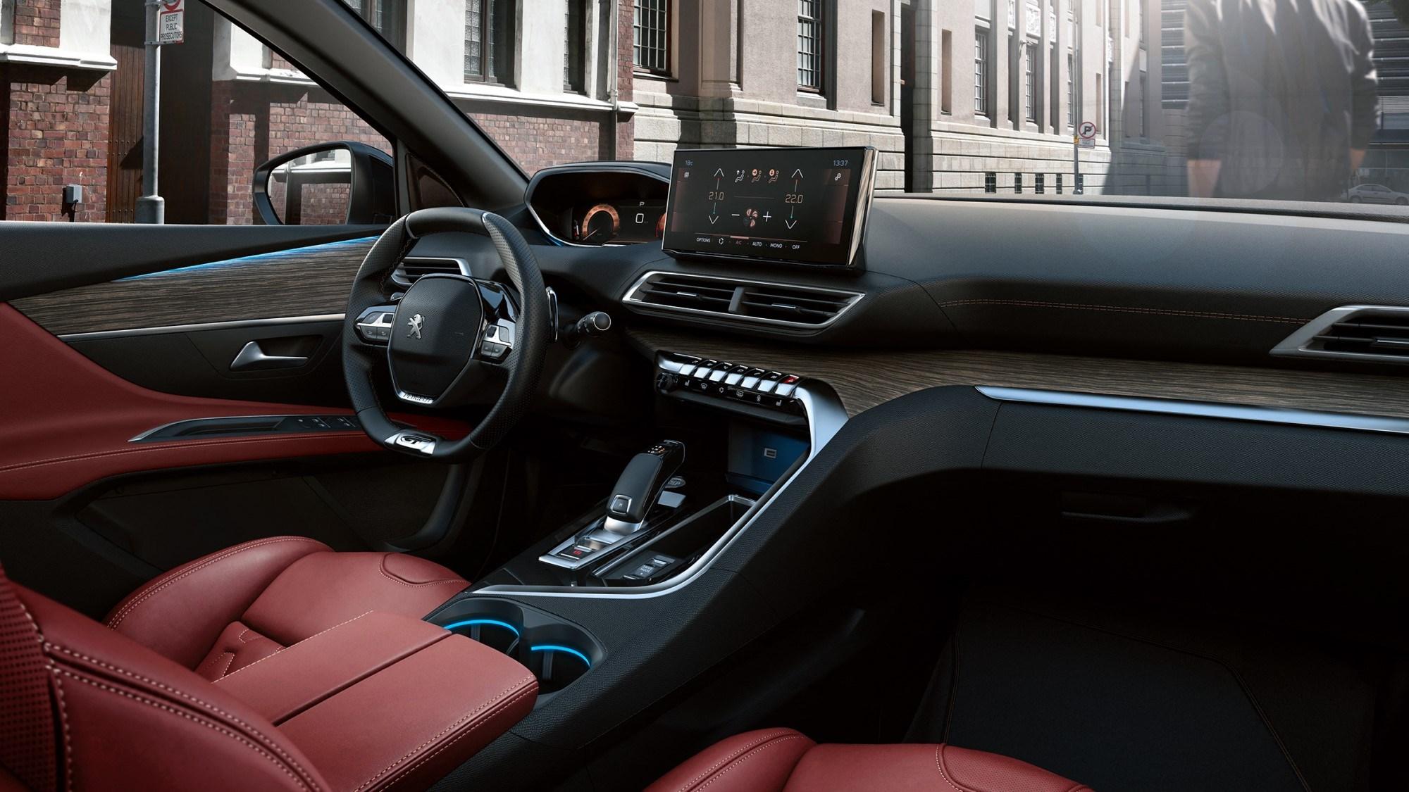 2020 Peugeot 3008 - interior