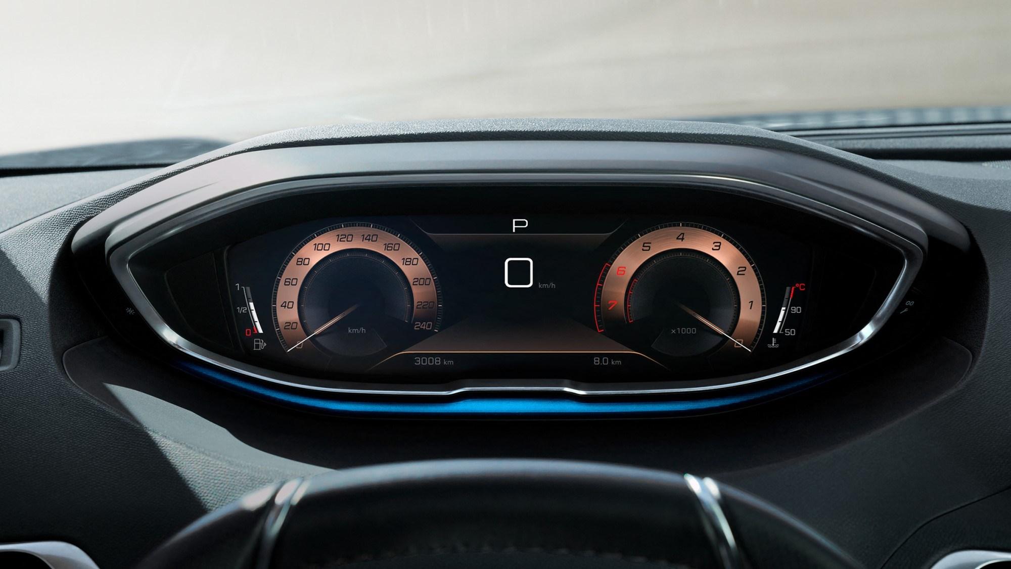 2020 Peugeot 3008 - dials