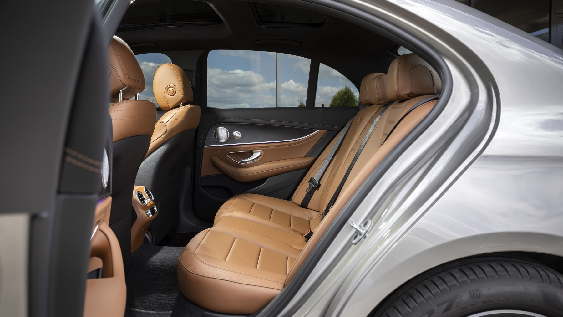 2020 Mercedes-Benz E-Class - rear seats
