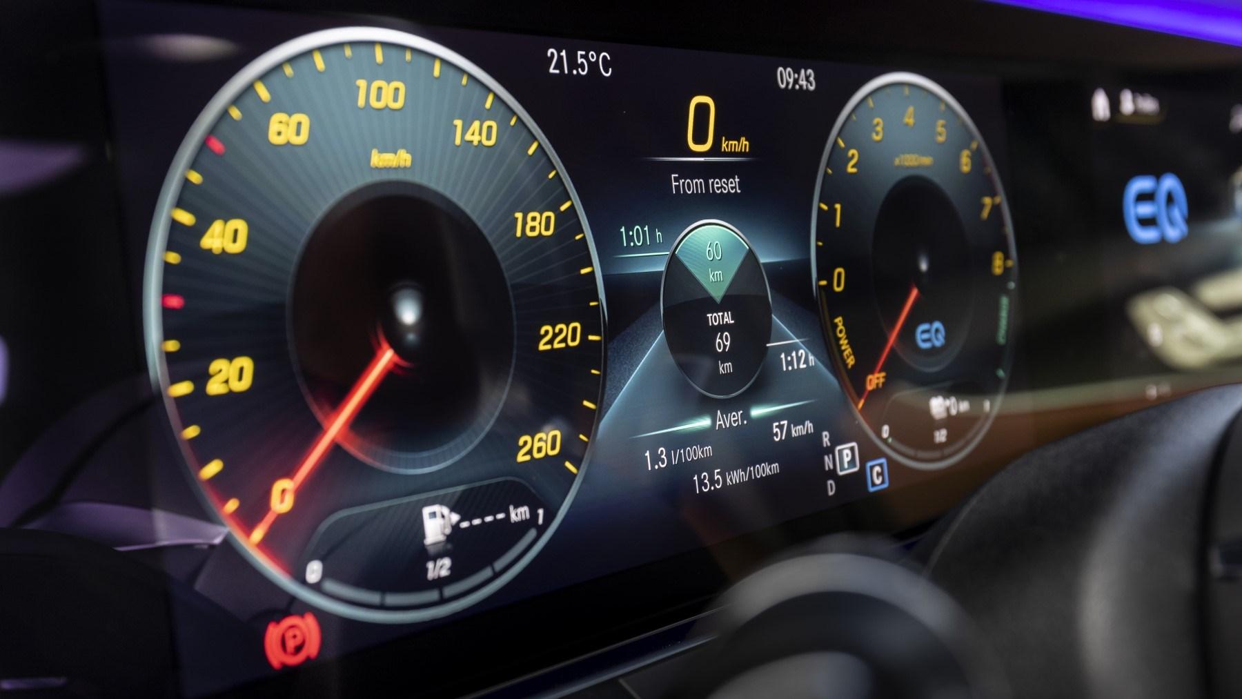 2020 Mercedes-Benz E-Class - dials