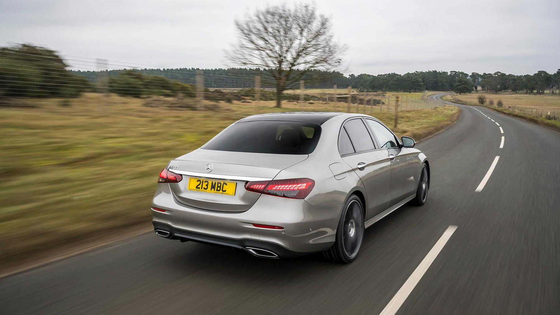 2021 Mercedes-Benz E-Class - rear tracking