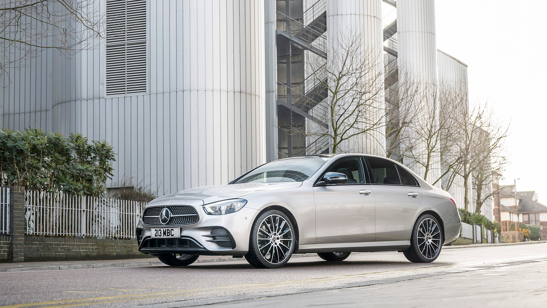 New grille for 2021 Mercedes E-Class