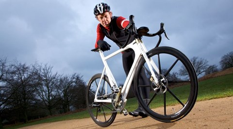 Gavin Green rides the £23k Bf1systems Factor 001 for an earlier feature