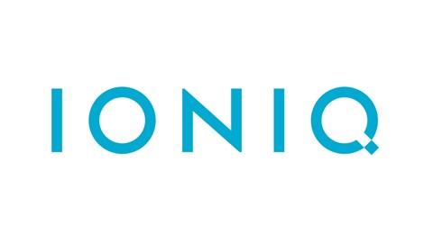 The new Ioniq badge