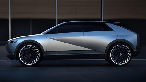 The Ioniq 45 concept car will become the Ioniq 5